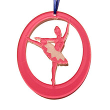 Load image into Gallery viewer, Silver Fairy Laser-Etched Ornament - Ballet Gift Shop