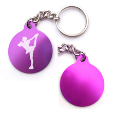 Load image into Gallery viewer, Figure Skating Key Chain (Choose from 2 designs)