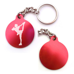 Figure Skating Key Chain (Choose from 2 designs)