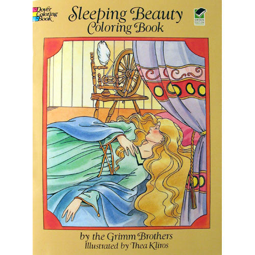 Sleeping Beauty Coloring Book - Ballet Gift Shop