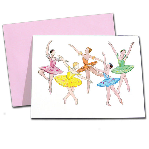 Sleeping Beauty Fairies Note Cards - Ballet Gift Shop