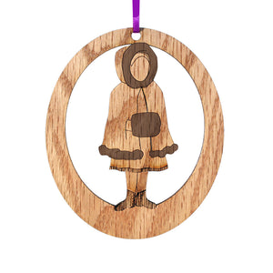 Snow Baby Laser-Etched Ornament - Ballet Gift Shop
