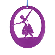 Load image into Gallery viewer, Snow Crystal/Winter Fairy Laser-Etched Ornament - Ballet Gift Shop