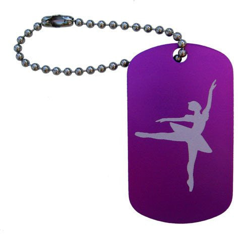 Snow Queen Dance Bag Tag - Ballet Gift Shop