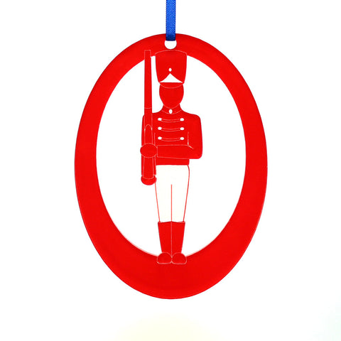 Soldier Laser-Etched Ornament - Ballet Gift Shop