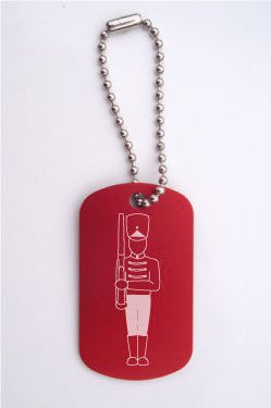 Toy Soldier Dance Bag Tag