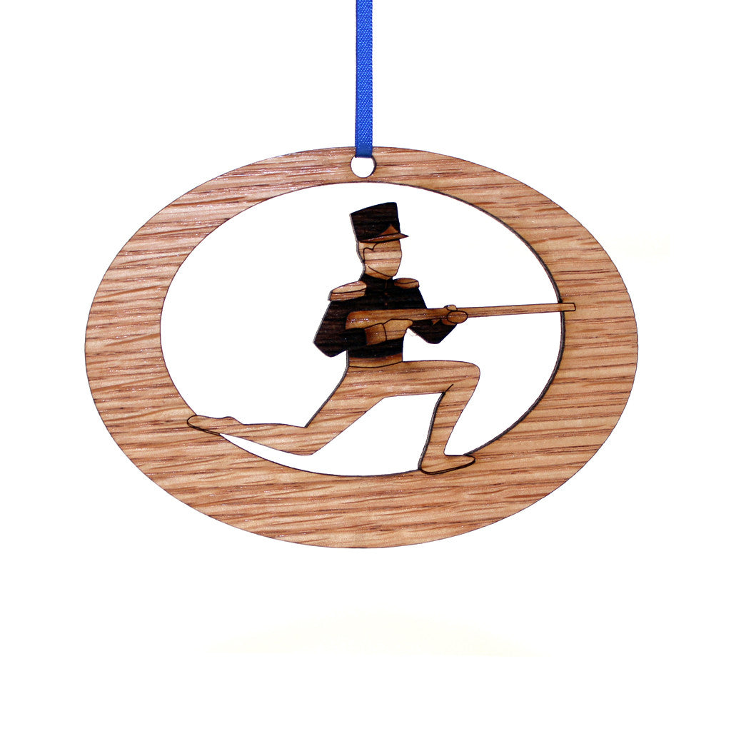 Soldier Doll Laser-Etched Ornament - Ballet Gift Shop