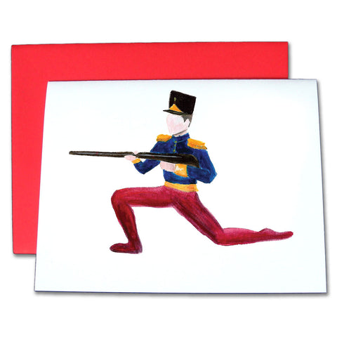 Soldier Doll Note Cards