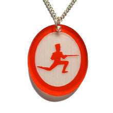 Load image into Gallery viewer, Soldier Silhouette Pendant - Ballet Gift Shop