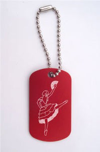Spanish Chocolate Girl Dance Bag Tag - Ballet Gift Shop