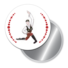 Load image into Gallery viewer, Spanish Chocolate Boy Button/Magnet/Mirror