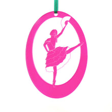 Load image into Gallery viewer, Spanish Chocolate Girl Laser-Etched Ornament - Ballet Gift Shop
