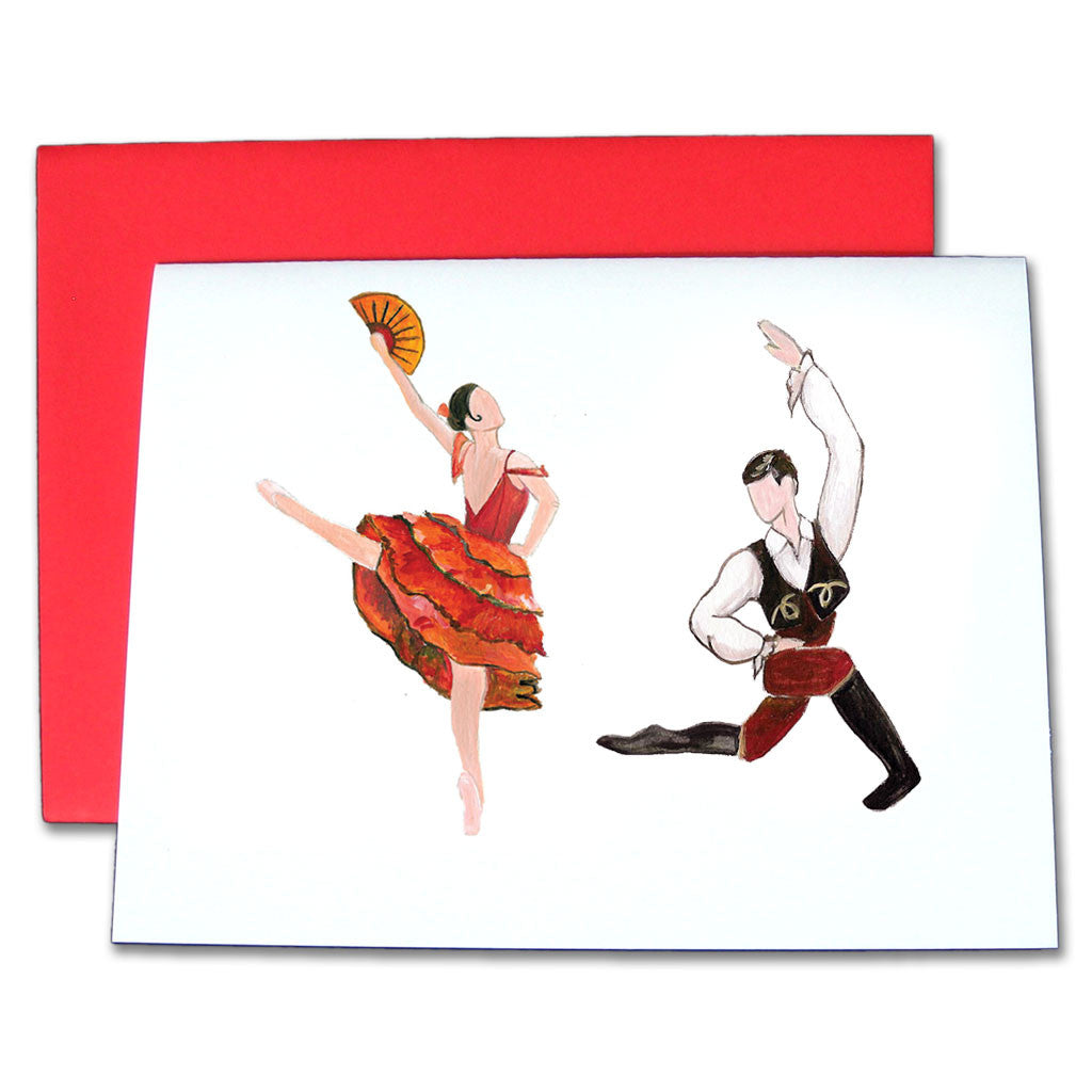 Spanish Chocolate Note Cards - Ballet Gift Shop