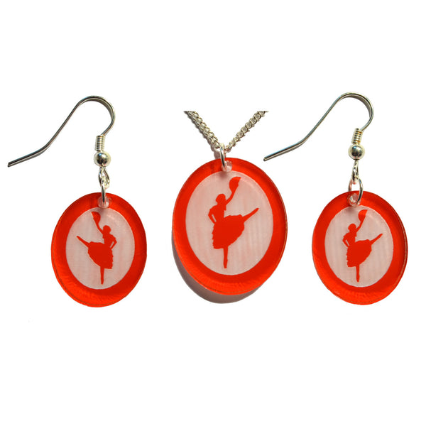 Spanish Chocolate Silhouette Earrings