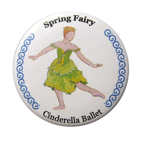 Spring Fairy Button / Magnet