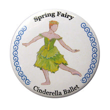 Load image into Gallery viewer, Spring Fairy Button/Magnet/Mirror - Ballet Gift Shop