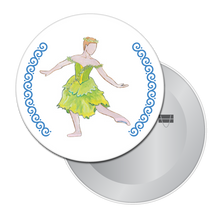 Load image into Gallery viewer, Spring Fairy Button/Magnet/Mirror
