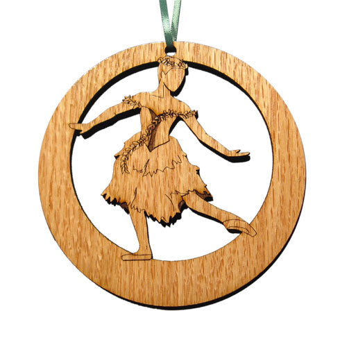 Spring Fairy Laser-Etched Ornament - Ballet Gift Shop
