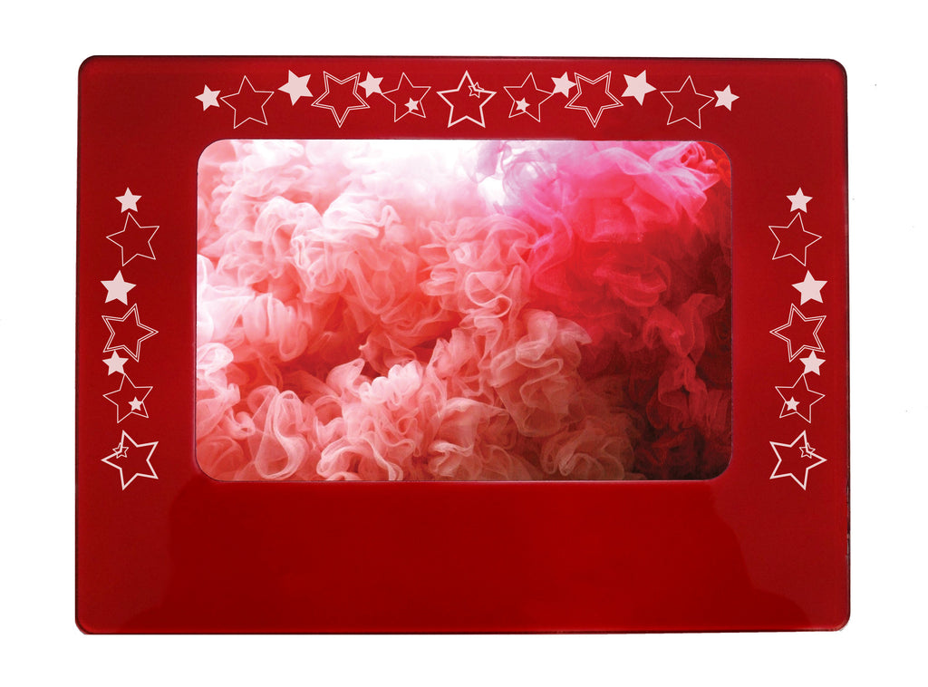"Shining Stars 4"" x 6"" Magnetic Photo Frame (Horizontal/Landscape) - Ballet Gift Shop"