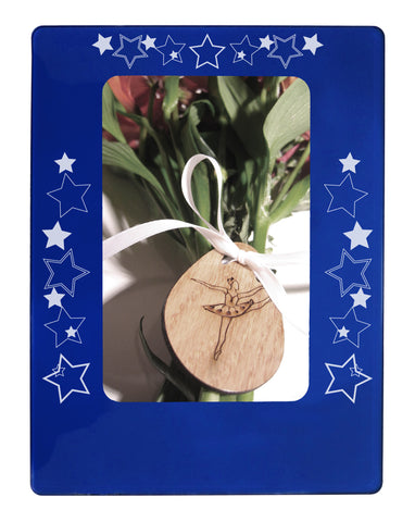 "Shining Stars 4"" x 6"" Magnetic Photo Frame (Vertical/Portrait)"
