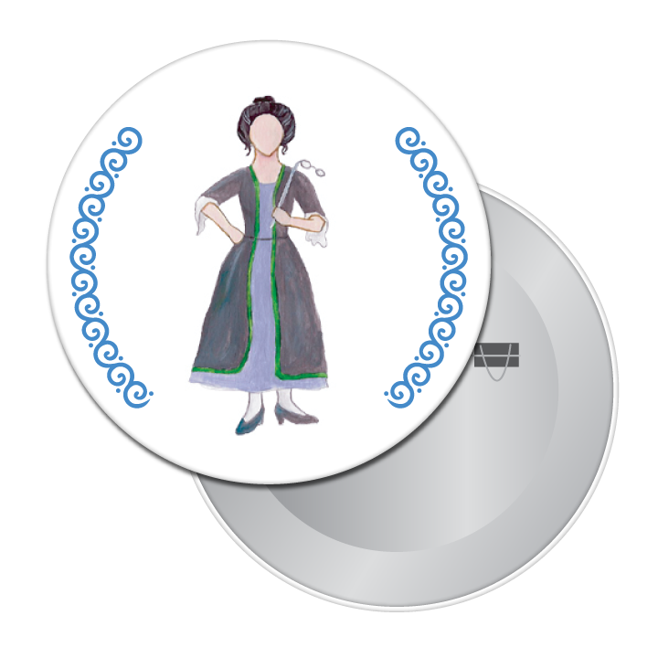 Cinderella's Stepmother Button / Magnet