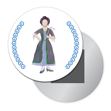 Load image into Gallery viewer, Cinderella's Stepmother Button/Magnet/Mirror