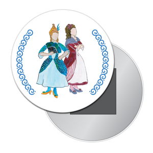 Cinderella's Stepsisters Button/Magnet/Mirror