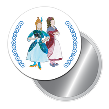 Load image into Gallery viewer, Cinderella's Stepsisters Button/Magnet/Mirror