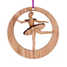 Load image into Gallery viewer, Sugar Plum Fairy Laser-Etched Ornament - Ballet Gift Shop