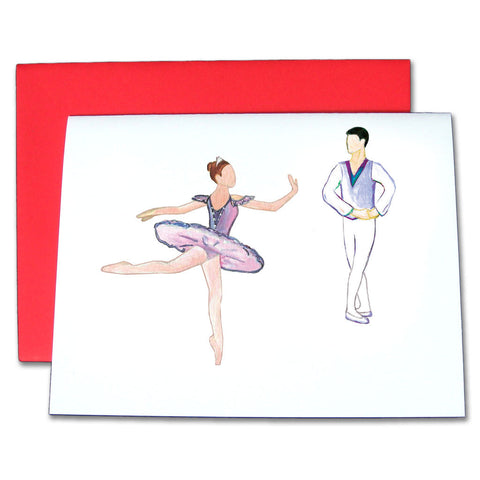 Sugar Plum Fairy & Cavalier Note Cards