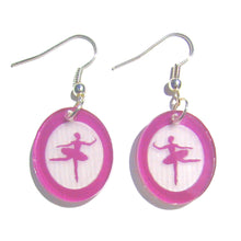 Load image into Gallery viewer, Sugar Plum Fairy Silhouette Earrings - Ballet Gift Shop