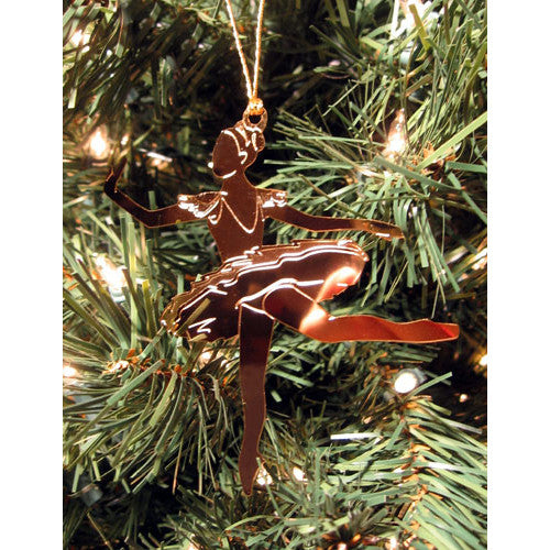 Sugar Plum Fairy Gold-Plated Ornament - Ballet Gift Shop