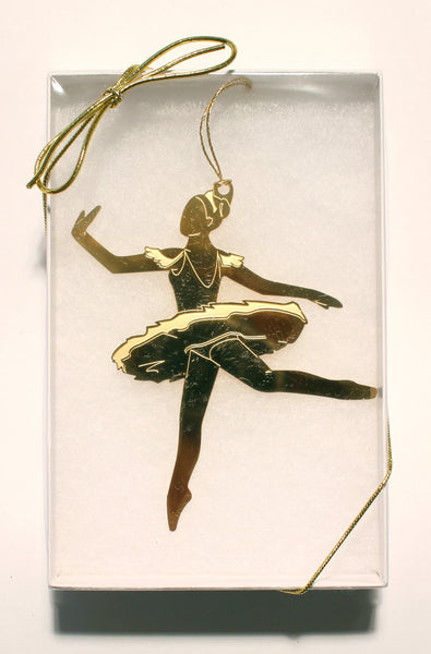 Sugar Plum Fairy Gold-Plated Ornament