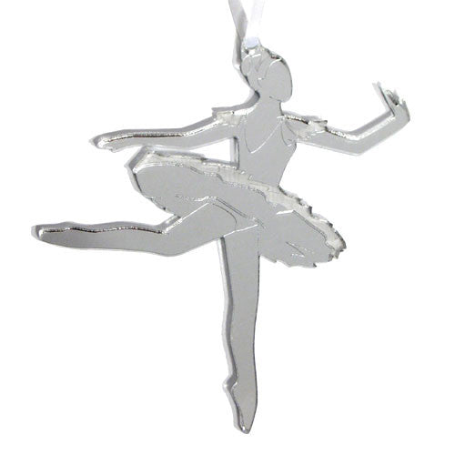 Sugar Plum Fairy Mirrored Ornament - Ballet Gift Shop