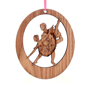 Sugar Plum Pas de Deux Laser-Etched Ornament - Ballet Gift Shop