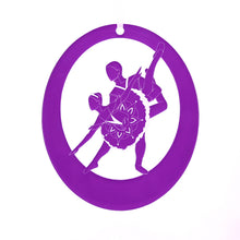 Load image into Gallery viewer, Sugar Plum Pas de Deux Laser-Etched Ornament - Ballet Gift Shop