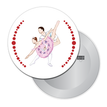 Load image into Gallery viewer, Sugar Plum Pas de Deux Button/Magnet/Mirror