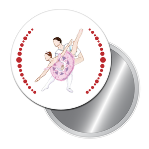 Sugar Plum Pas de Deux Button/Magnet/Mirror