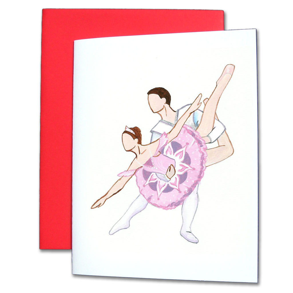Sugar Plum Pas de Deux Note Cards - Ballet Gift Shop