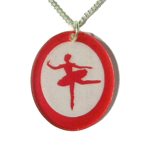 Sugar Plum Fairy Silhouette Pendants - Ballet Gift Shop