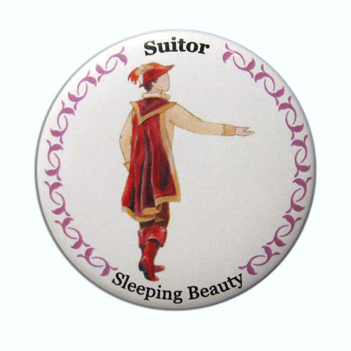 Suitor Button/Magnet/Mirror - Ballet Gift Shop