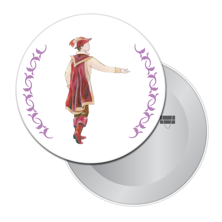 Suitor Button / Magnet