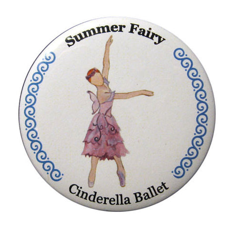 Summer Fairy Button / Magnet