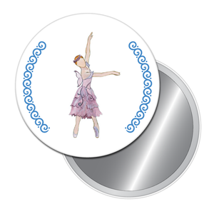Summer Fairy Button/Magnet/Mirror