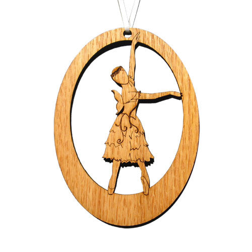 Summer Fairy Laser-Etched Ornament - Ballet Gift Shop