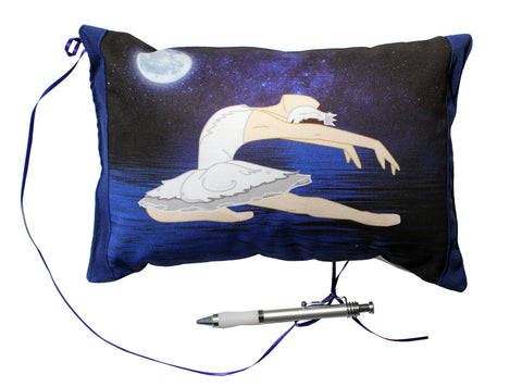 8x10 Swan Lake Ballet Autograph Pillow - Ballet Gift Shop