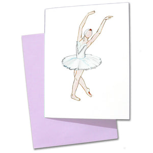 Swan Note Cards - Ballet Gift Shop
