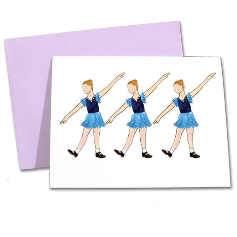 Tap Recital Note Cards