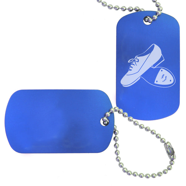 Tap Dance Bag Tag (Choose from 2 designs) - Ballet Gift Shop