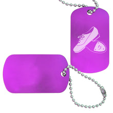 Load image into Gallery viewer, Tap Dance Bag Tag (Choose from 2 designs) - Ballet Gift Shop